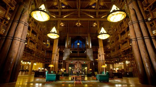 Disney's Wilderness Lodge - Lake Buena Vista - Lobby