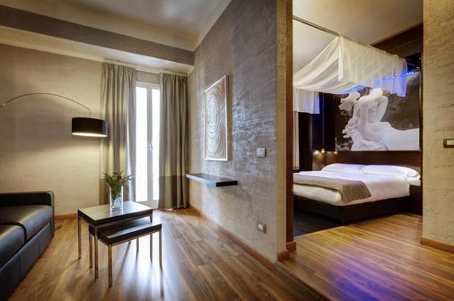 Dharma Luxury Hotel - Rome - Bedroom