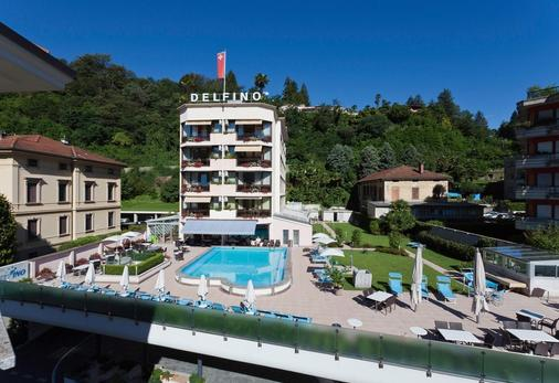 Hotel Delfino - Lugano - Outdoor view