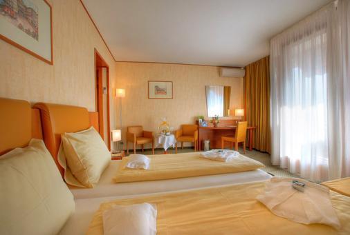 Hotel Delfino - Lugano - Bedroom