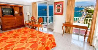 Krystal Beach Acapulco - Acapulco - Bedroom