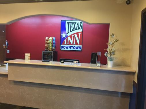 Texas Inn Downtown Mcallen - McAllen - Front desk