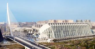 Ilunion Aqua 4 - Valencia - Building