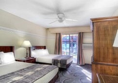 Shalimar Hotel Of Las Vegas - Las Vegas - Bedroom