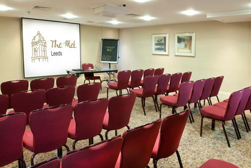 The Met Hotel - Leeds - Meeting room