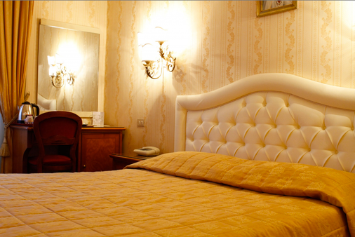 Hotel Eliseo - Rome - Bedroom