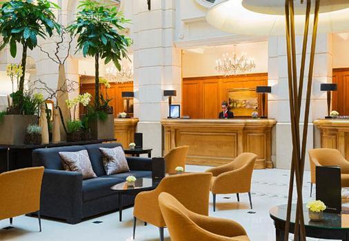 Paris Marriott Champs Elysees Hotel - Paris - Front desk
