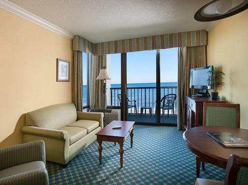 Sea Crest Oceanfront Resort - Myrtle Beach - Living room