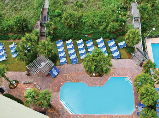 Sea Crest Oceanfront Resort - Myrtle Beach - Pool