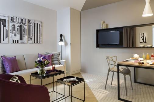 Citadines Opéra Paris - Paris - Living room