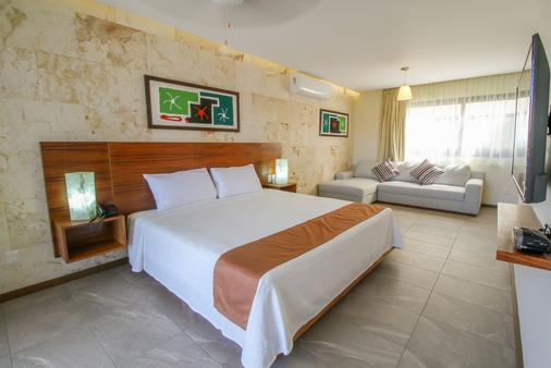 Grand Fifty Suites - Playa del Carmen - Bedroom