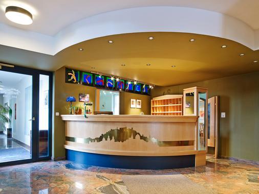 Das Grüne Hotel Zur Post - 100 % Bio - Salzburg - Front desk