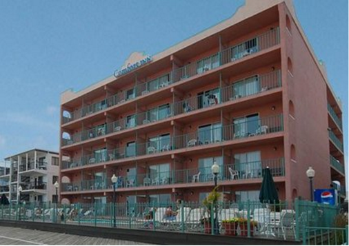 Comfort Inn Boardwalk - Ocean City - Building