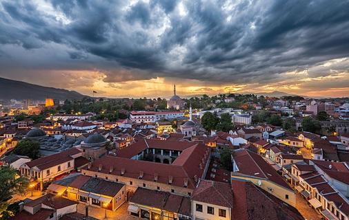 Hotel Arka - Skopje - Outdoor view