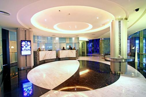 Hotel H2o - Manila - Front desk