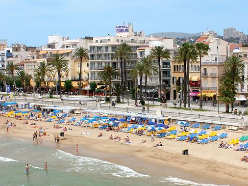 Hotel Subur - Sitges - Outdoor view