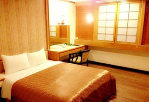 Li Gang hotel - Taichung - Bedroom