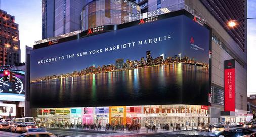 New York Marriott Marquis - New York - Building