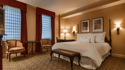 The Hotel Majestic St. Louis - St. Louis - Bedroom
