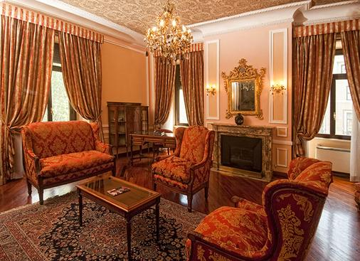 Ambasciatori Palace - Rome - Living room