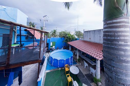 Hostel Playa by the Spot - Playa del Carmen - Pool