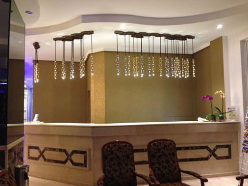 Kleopatra Celine Hotel - Alanya - Front desk