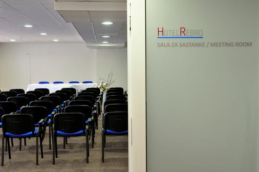 Hotel Rebro - Zagreb - Meeting room