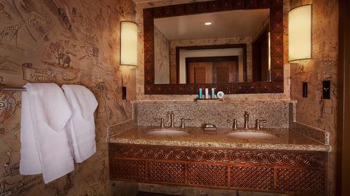 Disney's Animal Kingdom Lodge - Lake Buena Vista - Bathroom