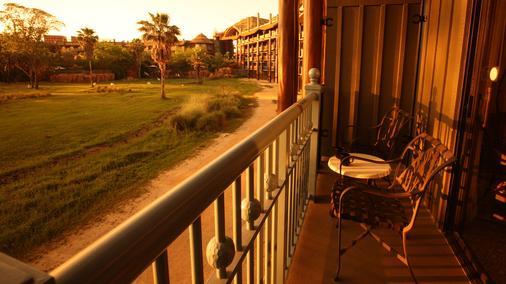 Disney's Animal Kingdom Lodge - Lake Buena Vista - Balcony
