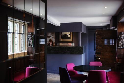 Old Parsonage Hotel - Oxford - Front desk