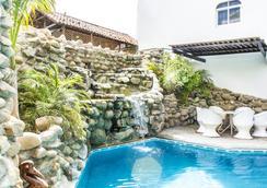 Bungalows Zicatela - Puerto Escondido - Pool