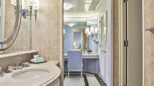 Windsor Court Hotel - New Orleans - Bathroom