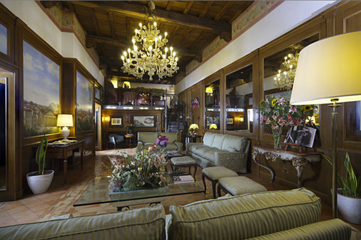 Hotel Pantheon - Rome - Hallway