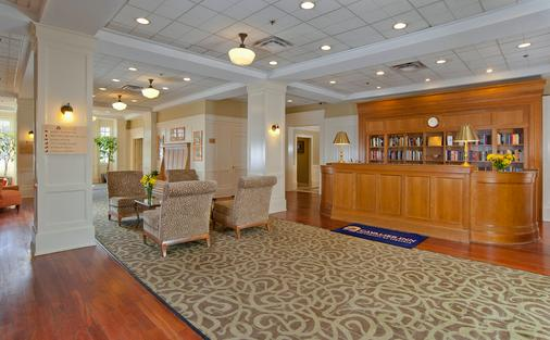 Cavalier Inn At The University - Charlottesville - Front desk
