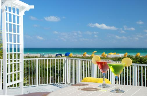 The Savoy Hotel & Beach Club - Miami Beach - Patio