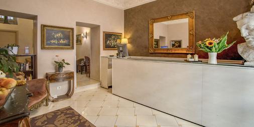 Hotel Caravaggio - Rome - Front desk