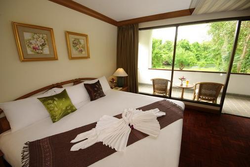 Comsaed River Kwai Resort - Kanchanaburi - Living room