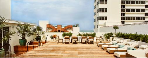 Nautilus, A Sixty Hotel - Miami Beach - Patio