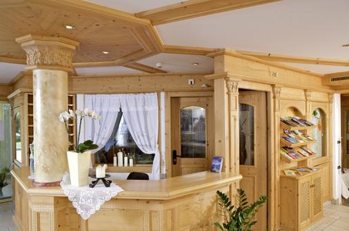 Hotel Edenlehen - Mayrhofen - Front desk