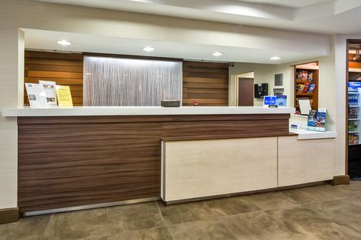 Fairfield Inn and Suites by Marriott Jacksonville Airport - Jacksonville - Front desk