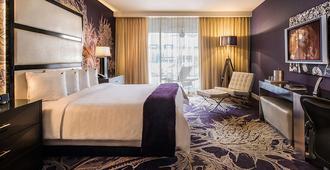 Hard Rock Hotel Palm Springs - Palm Springs - Bedroom