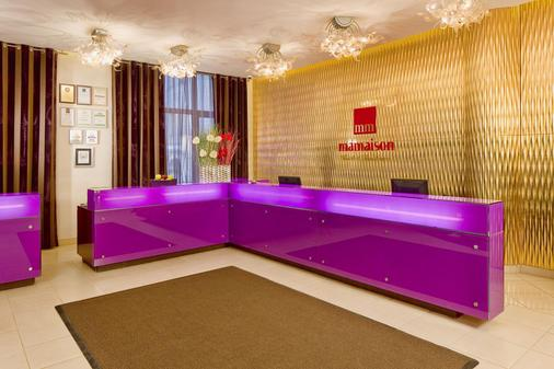 Mamaison All-Suites Spa Hotel Pokrovka - Moscow - Front desk