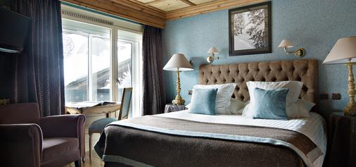 Hotel Mont-Blanc - Megève - Bedroom