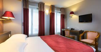 Hotel Passy Eiffel - Paris - Bedroom