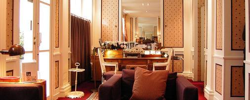 Hotel le Saint Gregoire - Paris - Front desk