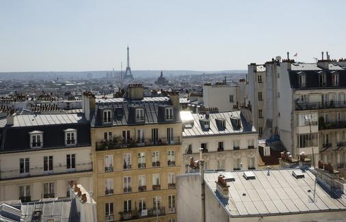 Hotel des Arts Montmartre - Paris - Outdoor view