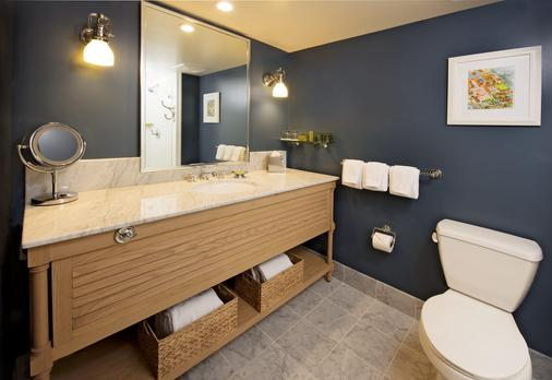 Portola Hotel & Spa At Monterey Bay - Monterey - Bathroom