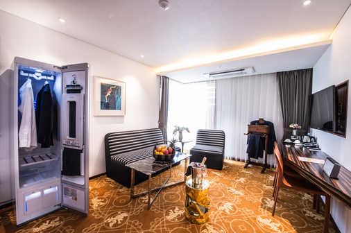 Hotel Leo - Jeju City - Living room