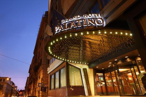 Fh Grand Hotel Palatino - Rome - Building