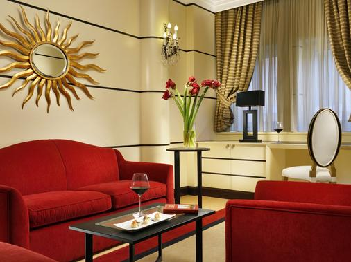 Fh Grand Hotel Palatino - Rome - Living room